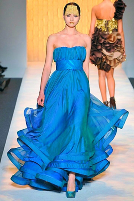 Christian V Siriano | Collection | Fall 2009 :  christian siriano fall 2009 dress christian siriano